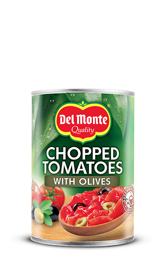 Chopped Tomatoes with Olives